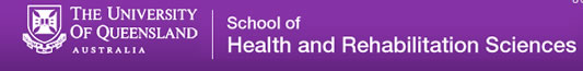 Uq The School of Health and Rehabilitation Sciences - Education Melbourne