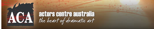 Actors Centre Australia - Education Melbourne